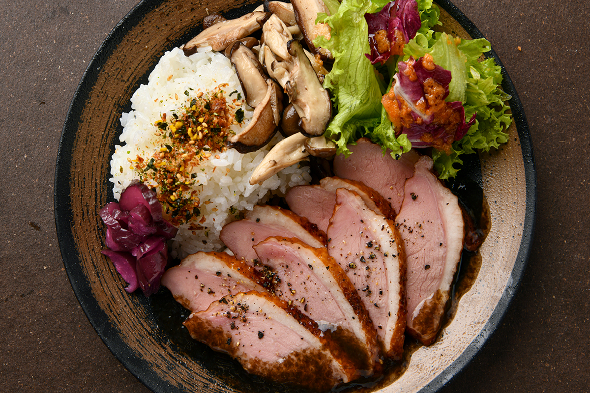 Classic Smoked Duck Bowl (805 Cal)