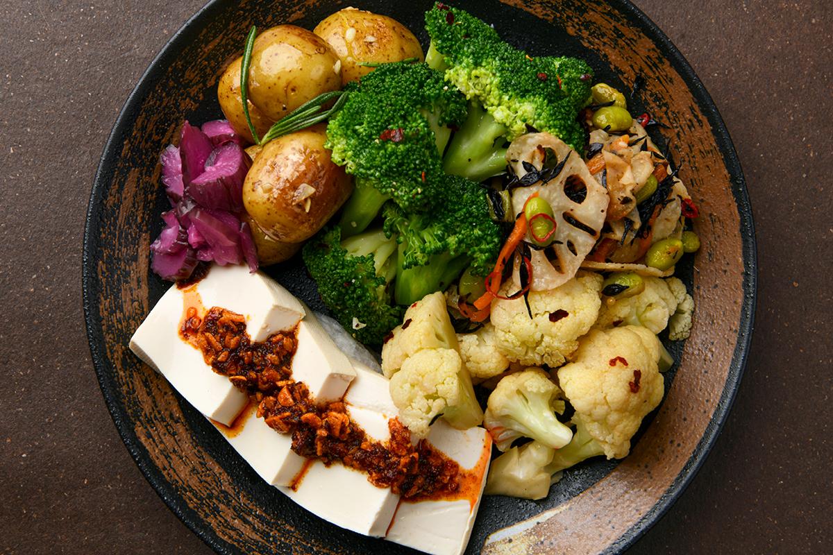 Pirikara Veggie Bowl (465 Cal)
